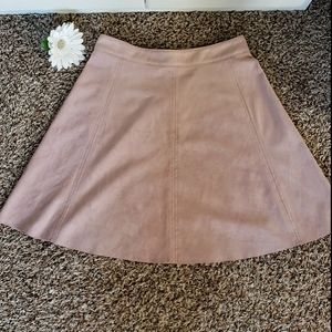 H&M Dusty Rose Skirt